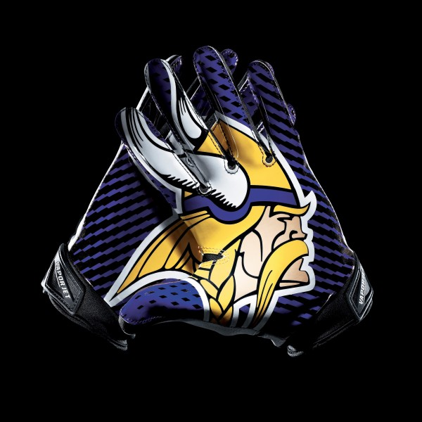 C097 Minnesota Vikings Gloves
